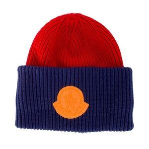 Moncler Bonnie  Hat(logo-patch) winter hat